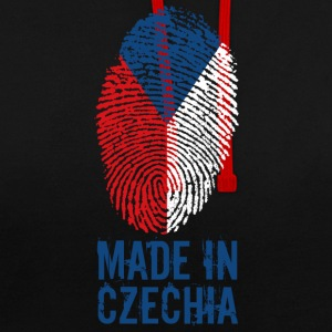 Made in Czechia / Made in Česká - Contrast Colour Hoodie