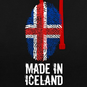 Made In Island / Island / IS - Kontrastluvtröja