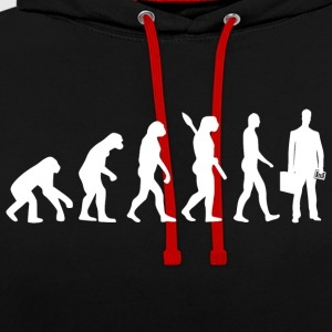 Evolution comptable comptable comptable w - Sweat-shirt contraste