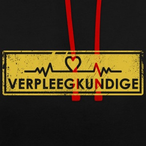 Pulse Nurse Gift: Order Here - Contrast Colour Hoodie