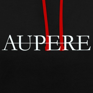 Aupere - Contrast hoodie
