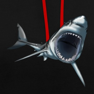 Grand requin blanc - Sweat-shirt contraste