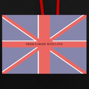FROM EUROPE WITH LOVE - Contrast Colour Hoodie