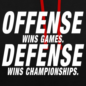Championnat Offense Defense - Sweat-shirt contraste