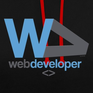 webdeveloper - Sweat-shirt contraste