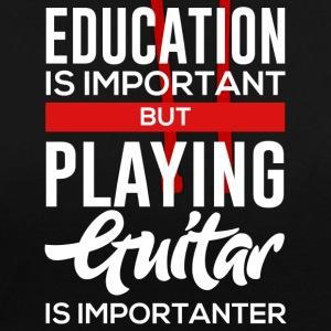 For Guitar Player! - Kontrast-Hoodie