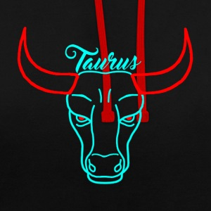 Taureau - Sweat-shirt contraste