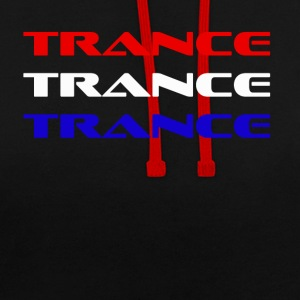 trance Holland - Contrast hoodie