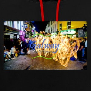 CITY OF CULTURE 2020- Galway - Contrast Colour Hoodie