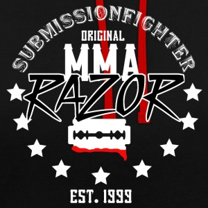 MMA - RAZOR - SUBMISSIONFIGHTER - Contrast Colour Hoodie