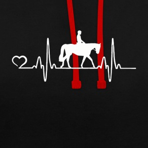 Cheval - Heartbeat - Sweat-shirt contraste