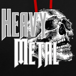 Heavy metal - Sweat-shirt contraste