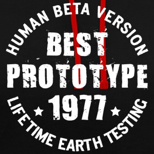 1977 - The year of birth of legendary prototypes - Contrast Colour Hoodie