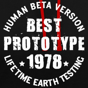1978 - The year of birth of legendary prototypes - Contrast Colour Hoodie