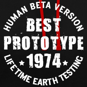 1974 - The year of birth of legendary prototypes - Contrast Colour Hoodie