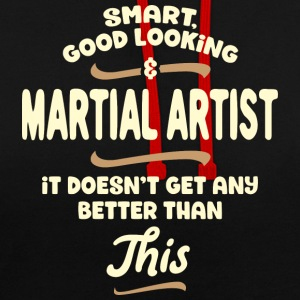 artiste intelligent, beau et martial ... - Sweat-shirt contraste