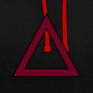 TRIANGLE SWAG - Sweat-shirt contraste