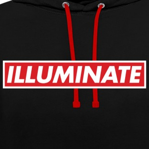 Illuminate - Sweat-shirt contraste