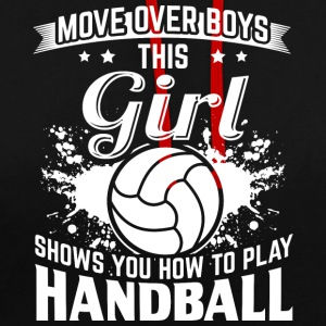 Handball MOVE OVER boys - Contrast Colour Hoodie