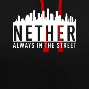 Nether - Altijd in the Street - Contrast hoodie