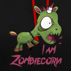 ZOMBIECORN - Sweat-shirt contraste