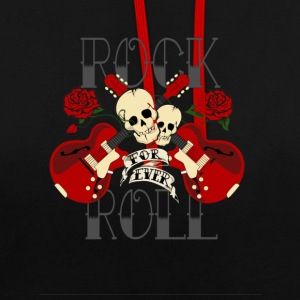 Rock'n roll - Sweat-shirt contraste