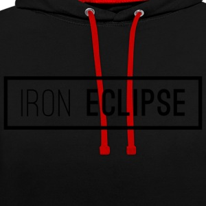 Iron Eclipse - Contrast hoodie