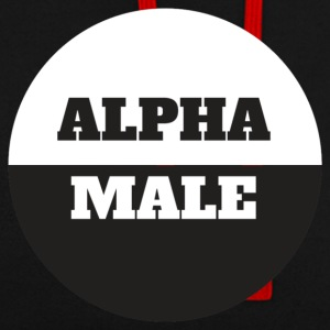 alpha Male - Sweat-shirt contraste