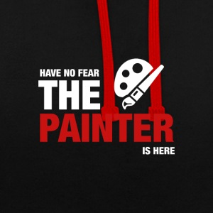 Avoir No Fear The Painter Is Here - Sweat-shirt contraste