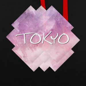 Tokyo - Contrast Colour Hoodie