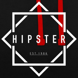 HIPSTER EST. 1986 - Sweat-shirt contraste