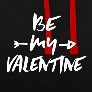 Be my VALENTINE - Sweat-shirt contraste