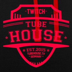 TubeHouse teamet College Merch 2017 Pink - Kontrast-hettegenser