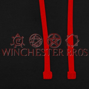 Winchester_Bros - Contrast Colour Hoodie