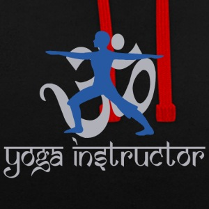 Yoga Instructor - Sweat-shirt contraste