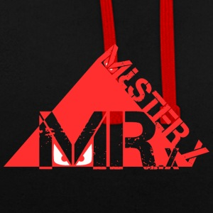 MR-X_PNG_rosso - Sweat-shirt contraste