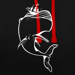 Moby Dick - Sweat-shirt contraste