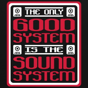 the only good system is the soundsystem - Kontrast-Hoodie