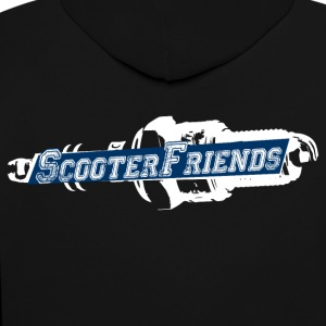 Scooter Friends - Contrast Colour Hoodie
