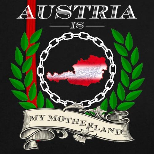 Austria - Kontrast-Hoodie