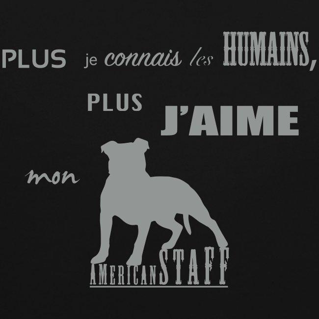 j/'aime mon Staffy-choix de taille//couleurs Staffordshire bull terrier sweat