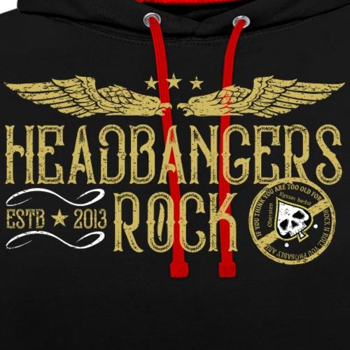 headbangersrock2019 new20 - Kontrast-hættetrøje