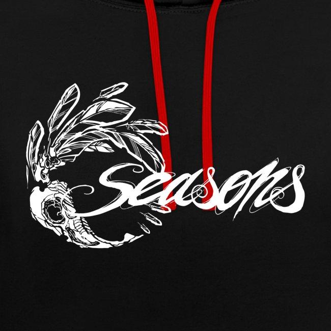 Seasons - White logo