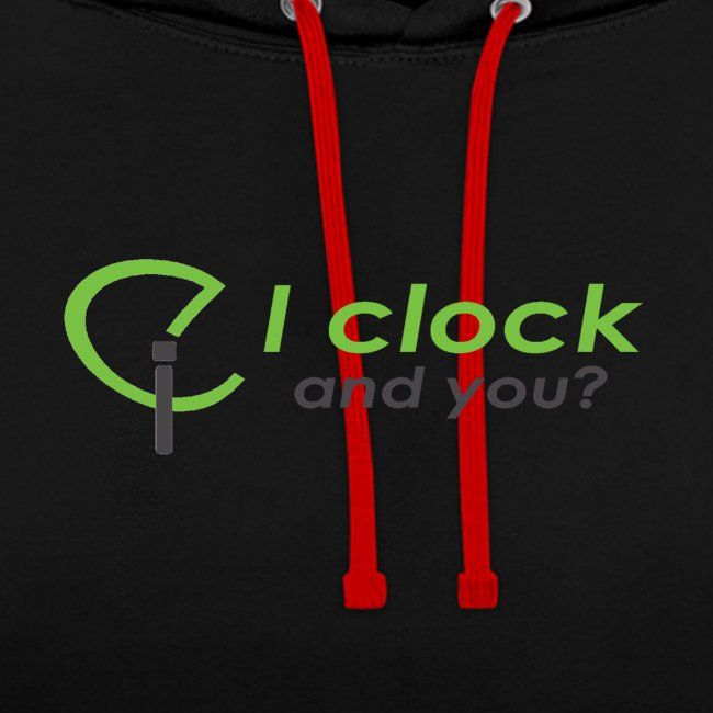I clock, and you ?