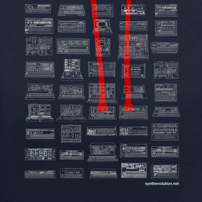 Synth Evolution T-shirt - Black
