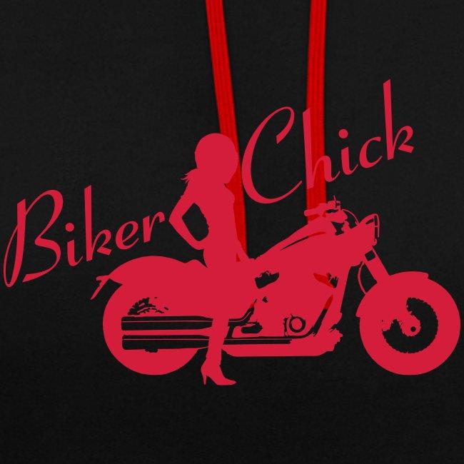 Biker Chick - Custom bike