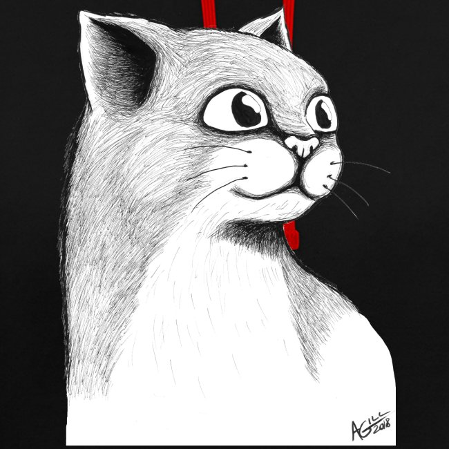 CAT HEAD by AGILL