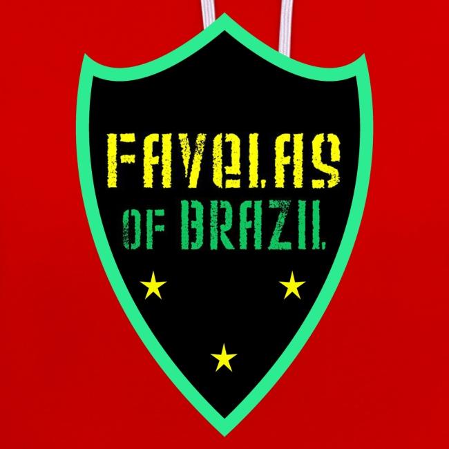 FAVELAS OF BRAZIL NOIR VERT DESIGN