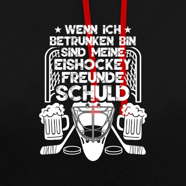 Lustiges Bier Eishockey Geschenk Hockey Freunde