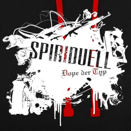 Spiriduell Style Logo - Kontrast-Hoodie